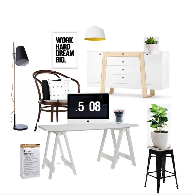 Interior Design Mood Borad
