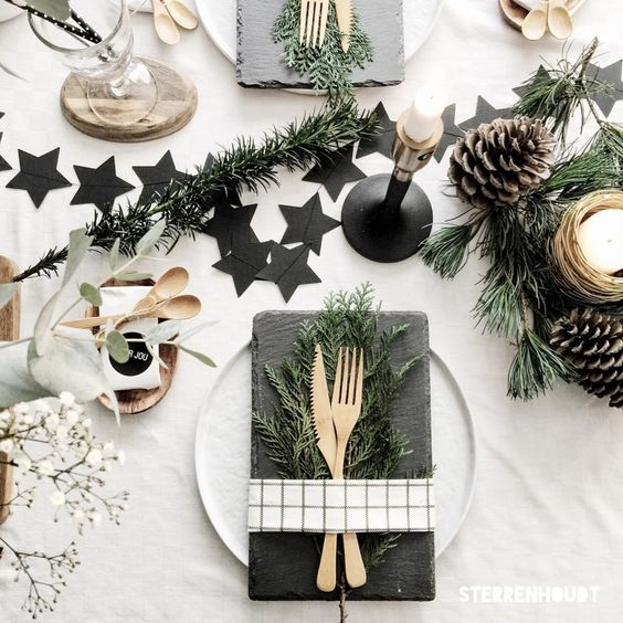 Xmas Table Decorations